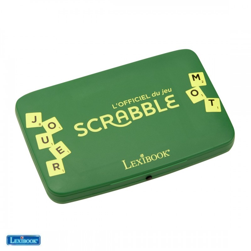 L'officiel du jeu SCRABBLE LEXIBOOK